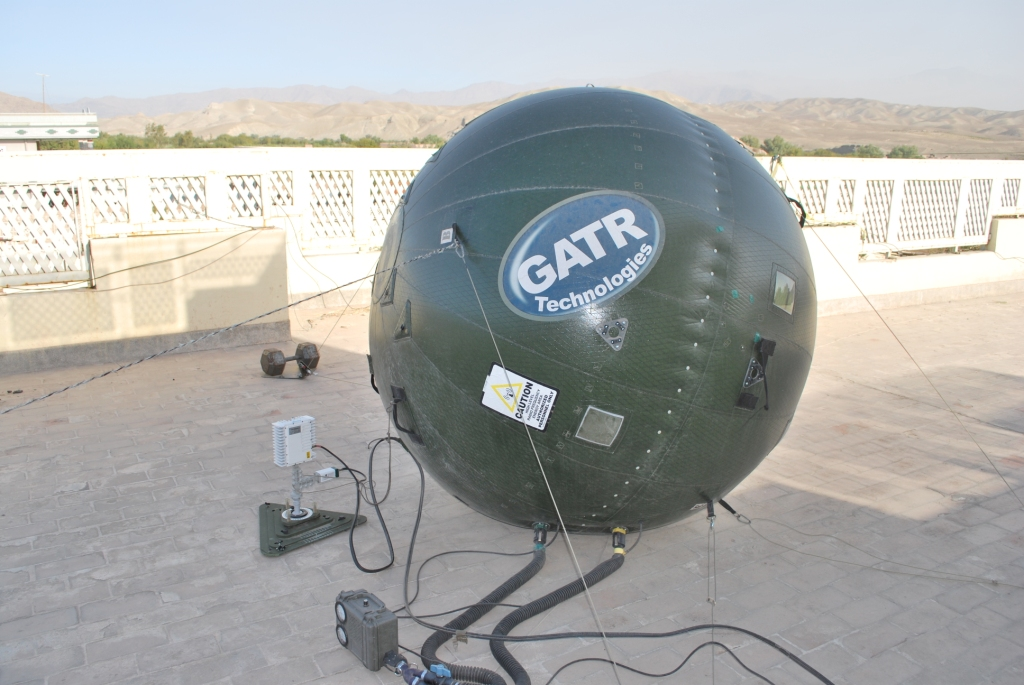 Gatr down - winds tore the transponder off our ball. It has survived everything mother nature threw at it until last Monday night