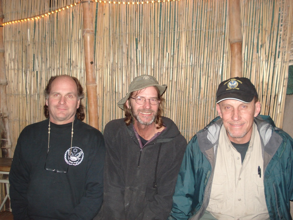 Dr. Dave, Ken and I at the TAj last winter