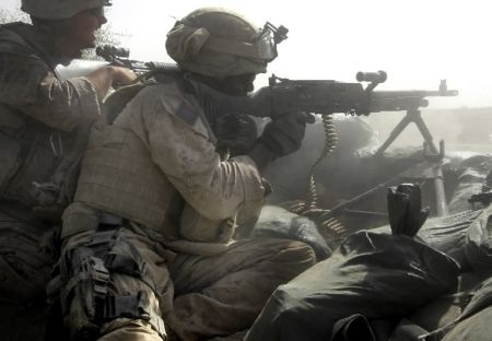 Fighting in the town of Garmsir last summer - the 24th MEU drove the Taliban out of that district in a 72 hour blitz while taking just one casualty