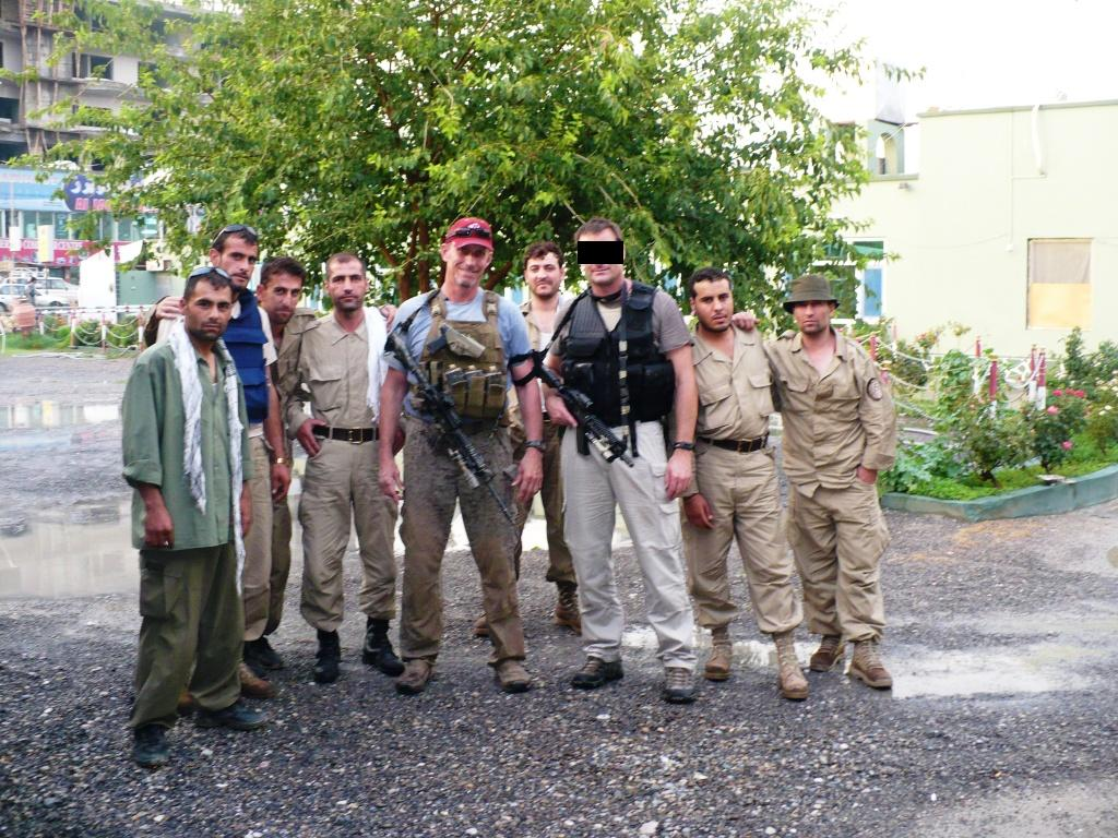 The FRI moblie security team in Kandahar summer 2007.