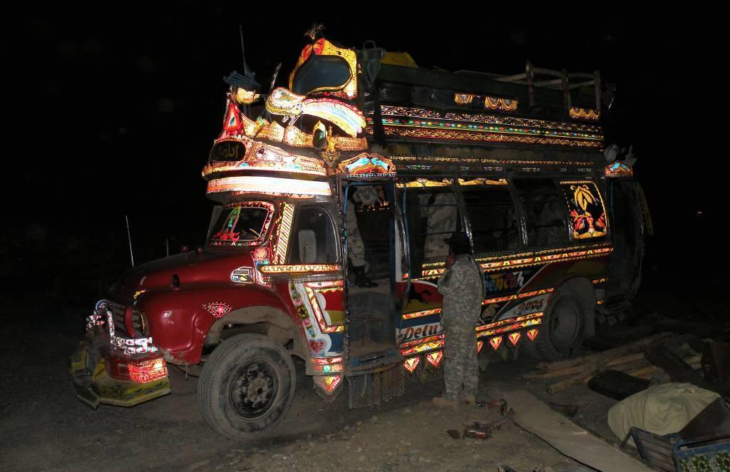 Taliban demolition smugglers or low level black market types?