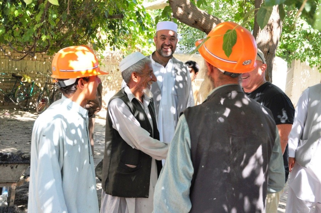 The boss and the Mayor of Jalalabad Lal Agha Kaker talking with workers on one of our project sites. Turns out the boss speaks fluent Pashto - Afghans love it when a forienger speaks to them in the local tongue