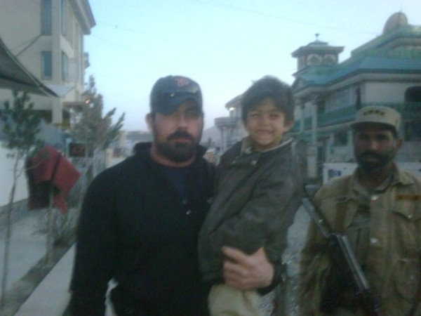 Christian with one of his boys he took care of in Kabul.  That is Sabu who was the youngest of three brother who Christian sponsored.  Rest in Peace my brother - you are missed