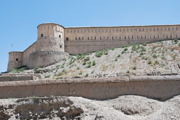 Most cities in Afghanistan contain an old really cool fort - Gardez is no exception