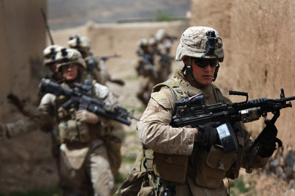 The Marines did not meet much resistance from Taliban fighters.  Not hard to see why - these guys love to fight but that is not their mission now and my money is on the Marines coming up with innovative ways to accomplish the &quot;hold and build&quot; part of the mission.
