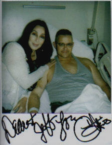 One of the reasons I am so happy to see Jeff is that he has fully recovered from bing badly wounded in Iraq.  But he got to hang out with Cher which is a bonus to be sure but there are better ways to meet celebrities