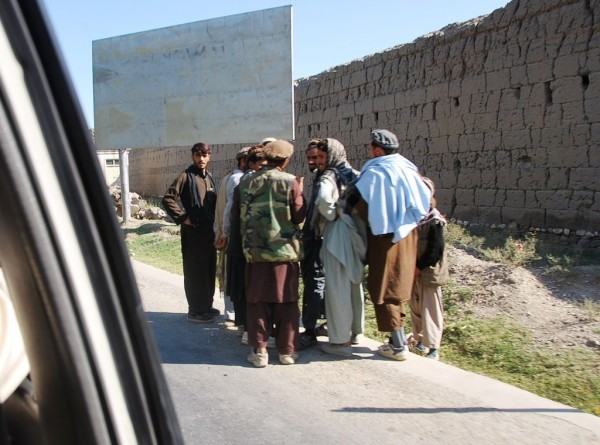 This is not what you want to see driving down the road; sunburned, lean men with hard eyes and high top sneakers. These are Taliban fighters and we saw hundreds of them hanging out along the roadside in the Province. Kunar statisically the most dangerous province in the country - that will change as the Americans pull out of their forward bases becasue the raw incident numbers will pulmmet but it will always be a bad place for us internationals. Most of the people in Kunar want to be left alone; we should accomidate them and let the Afghans deal with this chronically unstable area
