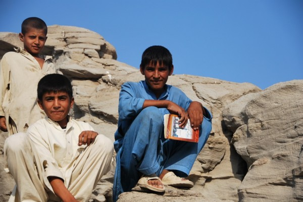 "These boys ran three miles with a Pashto - English translation book to see if they were saying ""my friend can swim like a fish"" correctly. We need to focus on these young guys because there are so many of them who want to learn."