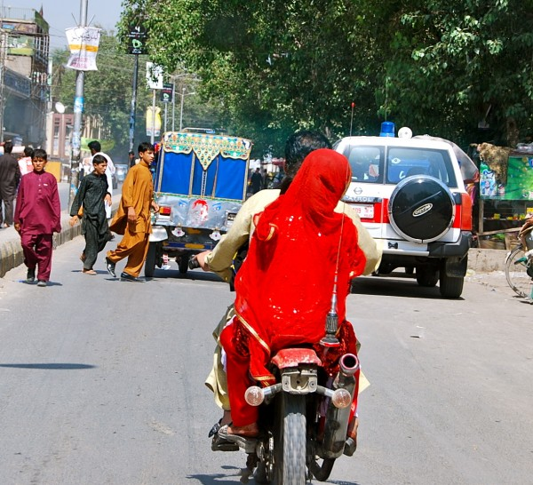 Downtown Jalalabad, busy, noisy, crowded, and relativly safe