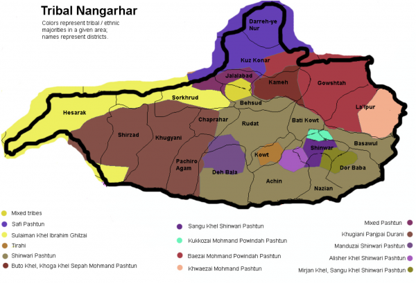 The Tribes of Nangarhar Province