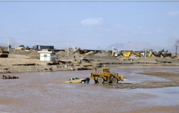 Floods like the one which hit Kandahar Province late last month are fast and cause a ton of damge to the fragile irrigation infrastrucutre