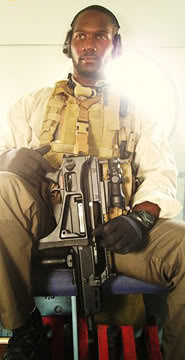 Louis Maxwell with his H&K G36K.  A true American hero but already one of the forgotten ones.