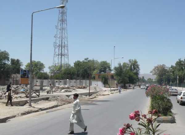 20 May The morning statrted with a bang - a small IED detonated at around 0700 beside the main road running through downtown Jalalabad.  This was yet another in a string of nusiance attacks which cause little damage and rarely any injuries