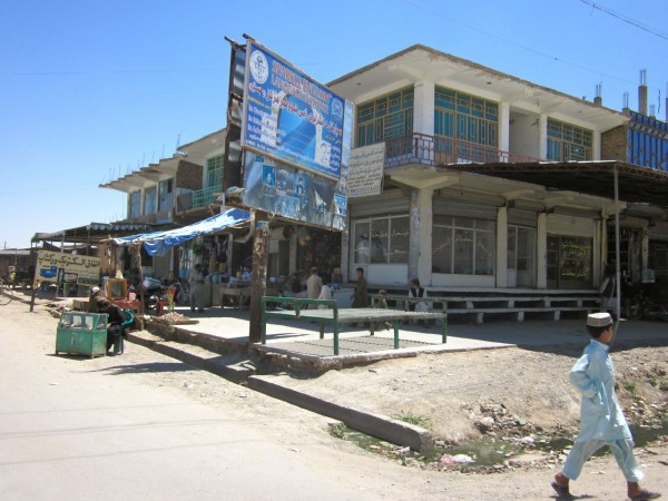High noon in downtown Lashkar Gah - it will be a ghost town like this for at least another week