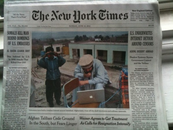 New York Times Sunday July 12, 2011
