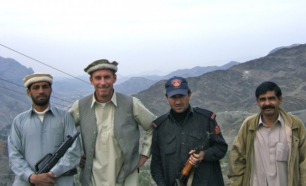 The low rent way to visit the Khyber Pass; you need a permit and a tribal policeman and of course some Afridi's never hurt to have along too