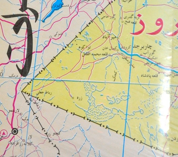 Once we crossed the Helmand we were in the bad lands of the Dasht-e Margo. There is nothing out there is this triangle of land that borders both Iran and Pakistan. The Taliban (and smugglers) move through this area regularly
