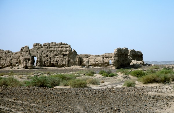 Once on the other side of the Helmand we passed no less than 25 old forts and walled cities - they were literally dotting the horizon for miles and miles in this empty desert