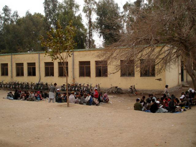 School in nangarhar in 2005
