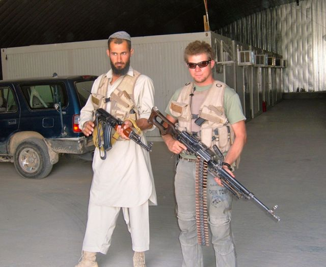 The Bot made it to Kabul and back without incident and scored five PKM's and a bunch of ammo.  This was before we had developed a more low profile approach to outside the wire work.  Back in 06 running the roads between Kabul and Kandahar was like being in a Mad Max movie and we dressed the part