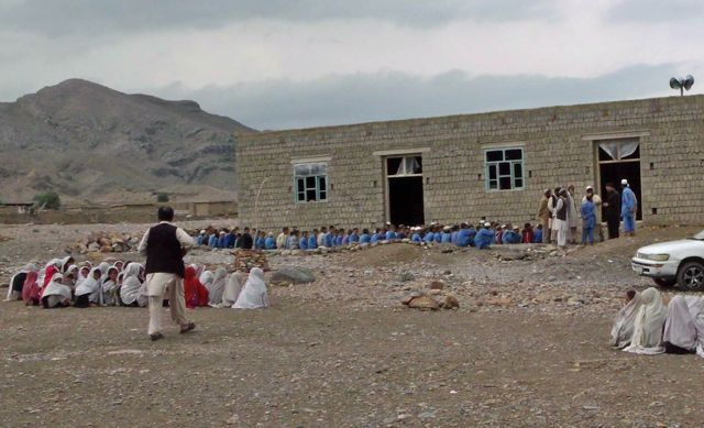 Public School in Nangarhar 2012