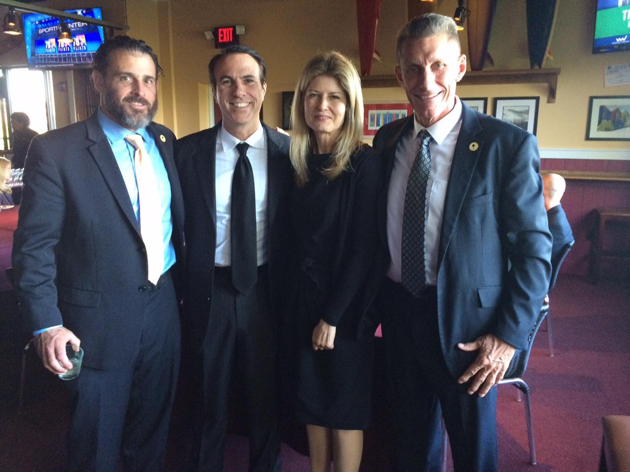 Kerry Patton, Tim Lynch, Fawn Hall and Jason Amerine